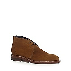 Loake - Tan suede 'Lawrence' chukka boots