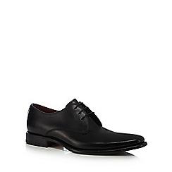 Loake - Black leather 'Bressler' Derby shoes