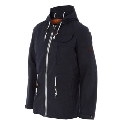 Ben Sherman Navy zip through jacket