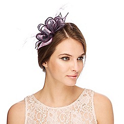 Debut - Purple organza hair clip