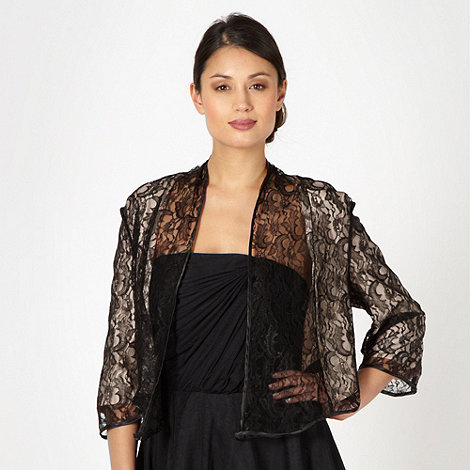 Debut - Light gold lace overlay bolero