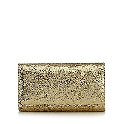 Debut - Gold glitter small cross body bag