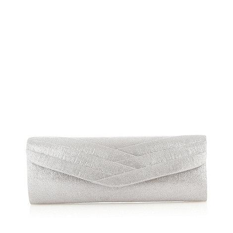 Debut - Silver clutch bag