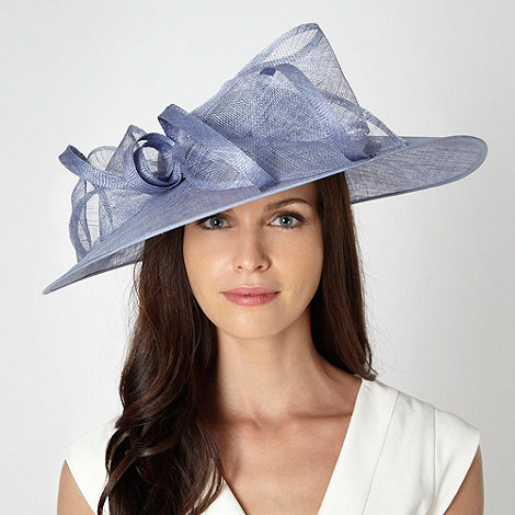 Hatbox - Pale blue bow twist hair piece