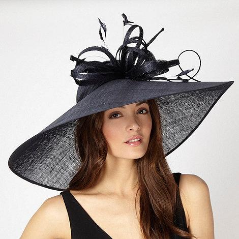 Hatbox - Navy asymmetric brim hat