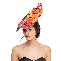 Star by Julien Macdonald - Multi-coloured orchid saucer fascinator