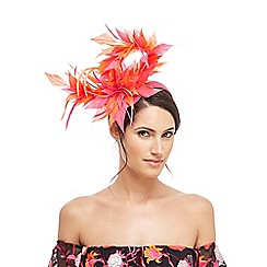Star by Julien Macdonald - Multi-coloured feather twist band fascinator
