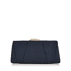 J by Jasper Conran - Blue layered clutch bag
