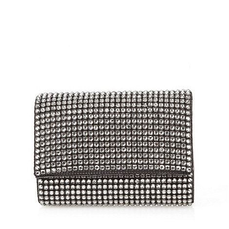 J by Jasper Conran - Designer black embellished clutch bag