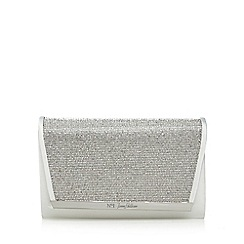 No. 1 Jenny Packham - Ivory diamante clutch bag