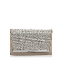 No. 1 Jenny Packham - Natural diamante clutch bag