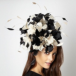 Principles by Ben de Lisi - Designer black floral burst head piece