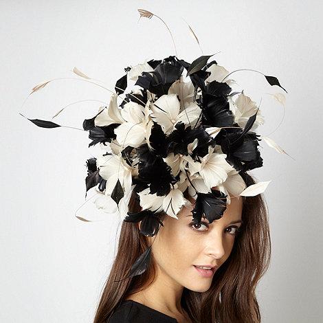 Principles by Ben de Lisi - Designer black floral burst head piece