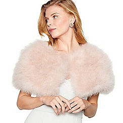 No. 1 Jenny Packham - Pink feather shrug