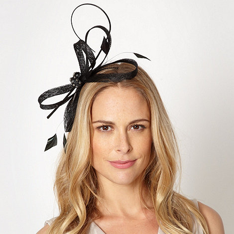 Principles by Ben de Lisi - Designer black jewelled bow headband