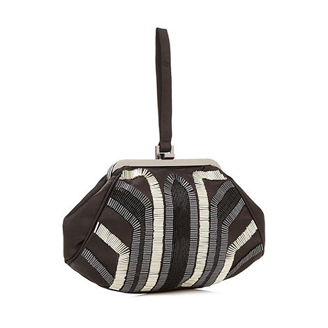Principles by Ben de Lisi - Designer black beaded opera bag