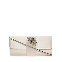 No. 1 Jenny Packham - Light pink satin clutch bag