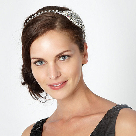 No. 1 Jenny Packham - Designer silver diamante hair band