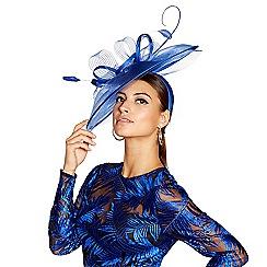 Star by Julien Macdonald - Blue statement feather headband