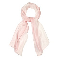 Debut - Light pink graduated silk scarf