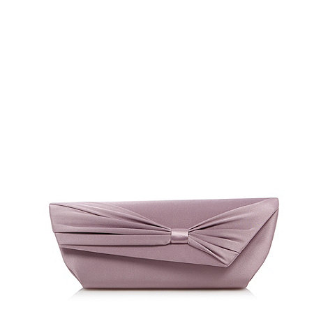 Debut - Lilac asymmetric flap over clutch bag
