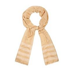 J by Jasper Conran - Designer natural woven linen blend scarf