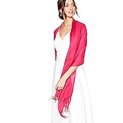 Debut - Bright pink hotfix pashmina