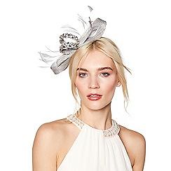 No. 1 Jenny Packham - Silver embellished bow headband