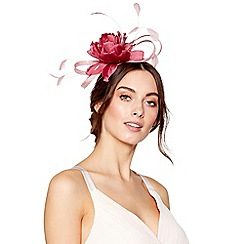 No. 1 Jenny Packham - Pink flower loop fascinator