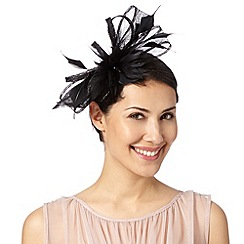 Principles by Ben de Lisi - Designer black feather bow head band