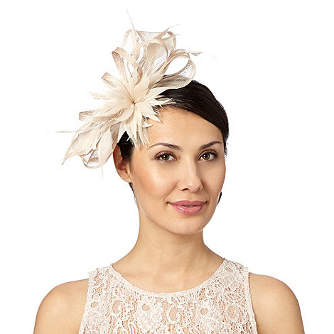Principles by Ben de Lisi - Designer natural feather bow fascinator