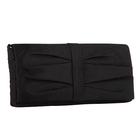 Debut - Black organza clutch bag