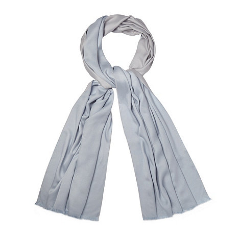 Debut - Light blue reversible pashmina
