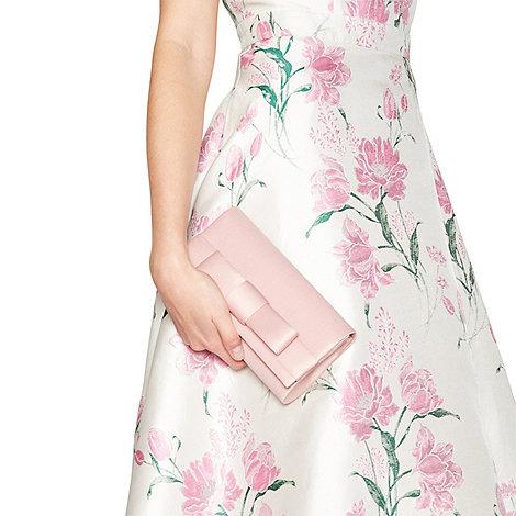 Debut Pink Satin Bow Bag | Debenhams