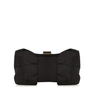 Debut Black bow clutch bag - . -