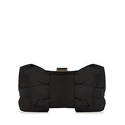 Debut - Black bow clutch bag