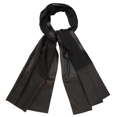 Debut - Black chiffon stole