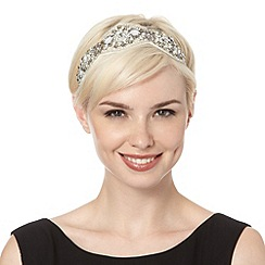 No. 1 Jenny Packham - Designer silver diamante headband