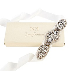 No. 1 Jenny Packham - Designer silver diamante occasion belt