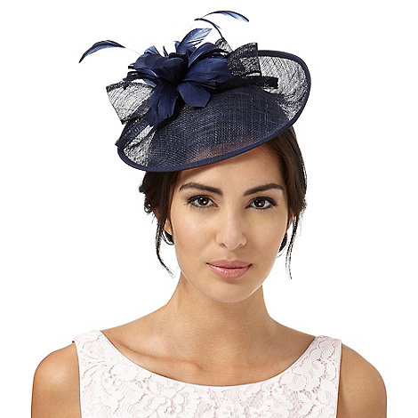 Debut - Navy +lamour+ saucer fascinator