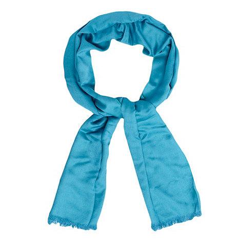 Debut - Turquoise reversible pashmina