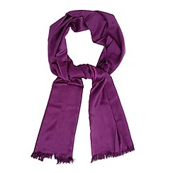 Debut - Purple reversible pashmina