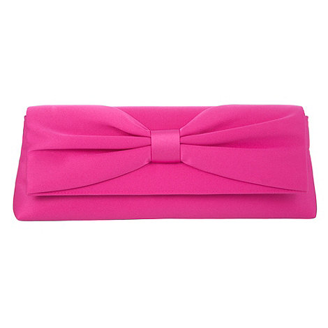 Debut - Pink +lamour+ bow clutch handbag