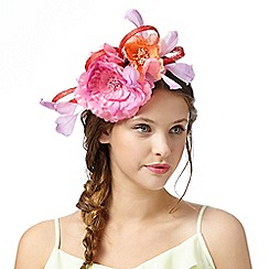 Floozie by Frost French - Pink floral bow hair band