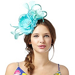 Floozie by Frost French - Blue floral bow hair band