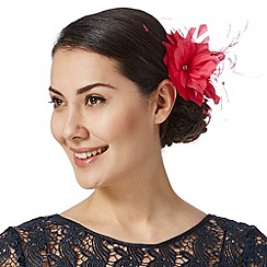 Debut - Bright pink triple flower hair clip