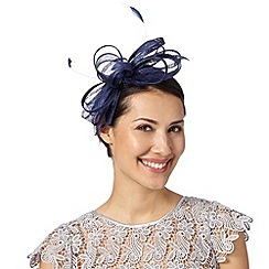 Debut - Navy looped bow fascinator