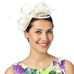 Debut - Ivory looped bow fascinator