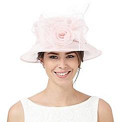 Hatbox - Pink organza hat