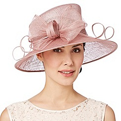 Hatbox - Pale pink oversized bow hat